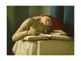Mannequin, Annigoni's Studio, 1958 Giclee Print by Antonio Ciccone