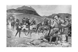 Surrender of General Prinsloo, July 30, 1900 Giclee Print by Ernest Prater
