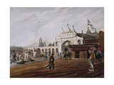 Market Square, 1818 Giclee Print by Emeric Essex Vidal