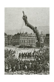 The Vendôme Column, 19th Century Giclee Print by Daniel Urrabieta Vierge