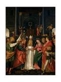 The Marriage of the Virgin Giclée-tryk af Gaudenzio Ferrari