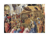Adoration of the Magi or Tondo Cook, 1445-1455 Giclee Print by Giovanni Da Fiesole