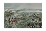 French Army Crossing the Niemen Giclee Print by Felicien Baron De Myrbach-rheinfeld