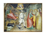Annunciation of Angel and Meeting with St Anne Giclee Print by Giovanni Da Milano