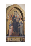Madonna with Child, St Catherine of Alexandria and St Anthony Abbot Giclee Print by Bicci di Lorenzo