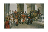 The Consuls Take Possession of the Tuileries Giclee Print by Felicien Baron De Myrbach-rheinfeld