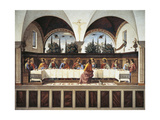 Italy, Florence, Refectory of Convent of San Marco, Last Supper, 1485 Giclee Print by Domenico Ghirlandaio