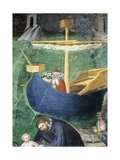 Boat at Sea, Detail from Miracle of Saint Mary Magdalene Giclee Print by Giovanni Da Milano