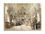 The Chapel of Saint Catherine at Mount Sinai Monastery, 1839 Giclee Print by David Roberts