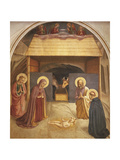 Nativity, 1437-1445 Reproduction procédé giclée par Giovanni Da Fiesole