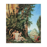 Satyr Family Giclee Print by Albrecht Altdorfer