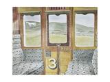 Train Landscape Giclée-tryk af Eric Ravilious