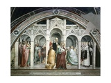 St Joachim Being Expelled from Temple, Ca 1365 Giclee Print by Giovanni Da Milano