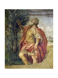 Mythological Subject Giclee Print by Agostino Carracci