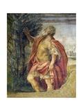 Mythological Subject Giclee Print by Agostino Carracci
