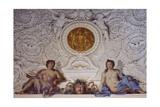 Detail from Fresco Giclée-tryk af Carlo Maratti