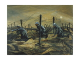 In the Trenches, 1917 Giclee Print by Christopher Richard Wynne Nevinson