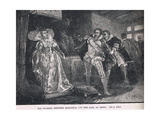 The Quarrel Between Elizabeth and the Earl of Essex 1598 Giclee Print by Charles Ricketts