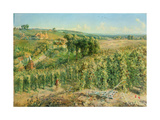 The Hop Garden Giclee Print by Cecil Gordon Lawson