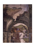 Borso D'Este Hunting Scene from Month of March, Circa 1470 Giclee Print by Francesco del Cossa