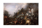 The Cavalry Charge Giclee Print by Charles Parrocel