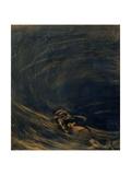 Descent into the Maelstrom, 1888 - 1890 Giclee Print by Gaetano Previati