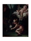 Rest on the Flight into Egypt Giclee Print by Giambettino Cignaroli