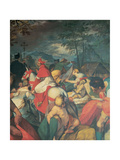 Scenes from the Life of St Charles: St Charles Visiting the Lepers, 1602 - 1603 Giclee Print by Giovanni Battista Crespi