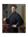 Portrait of a Young Man, C.1530 Giclee Print by Agnolo Bronzino