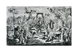 The Witches' Sabbath Giclee Print by Claude Gillot