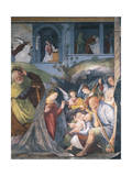 Nativity, Fresco Giclee Print by Gaudenzio Ferrari