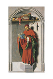 Prophet Jeremiah, Right Panel of Aix Triptych, 1443-1445 Giclee Print by Barthelemy D'eyck