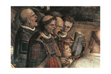 Singers, Detail from Transportation of Holy Face, 1507-1509 Giclee Print by Amico Aspertini
