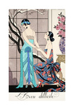 The Difficult Admission Giclee Print by Georges Barbier