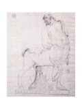 Drunk Centaur Giclee Print by Antonio Canova