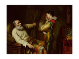 The Last Moments of Christopher Columbus Giclee Print by Claude Jacquand