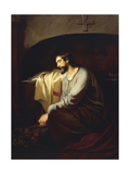A Neophyte, 1851 Giclee Print by Domenico Morelli