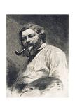 Gustave Courbet, 1882 Giclee Print by Etienne Gabriel Bocourt