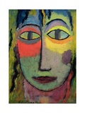 Head of a Woman 'Medusa', 1923 Giclee Print by Alexej Von Jawlensky
