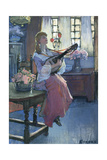 The Mellowinds of March Giclee Print by Elizabeth Adela Stanhope Forbes