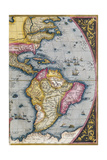 Map of South America, from Theatrum Orbis Terrarum, 1570 Giclee Print by Abraham Ortelius