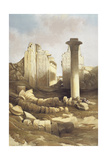 Egypt, Pillared Hall of the Temple of Karnak, 1848 Giclee Print by David Roberts