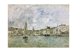 The Port at Honfleur, 1896 Giclee Print by Eugène Boudin