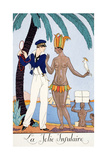 The Pretty Islander Giclee Print by Georges Barbier
