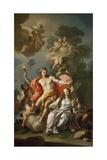 Hymen and Modesty Giclee Print by Francesco de Mura