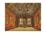 The King's Old State Bed Chamber Giclee Print by Charles Wild