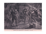 Arrest of the Conspirators at Cirncester Ad 1400 Giclee Print by Charles Ricketts