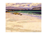 The White Strand, Iona Giclee Print by Francis Campbell Boileau Cadell