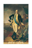 George Washington at Princeton, 1779 Giclee Print by Charles Willson Peale