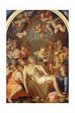 The Deposition, 1555 Giclée-tryk af Agnolo Bronzino